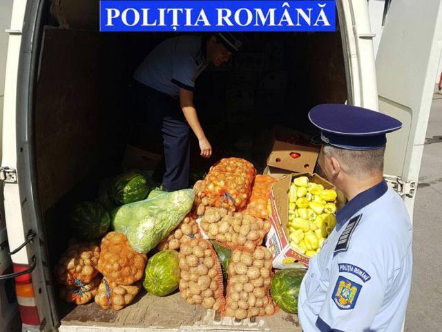 Acţiunea poliţiştilor pentru identificarea şi verificarea celor care practică activităţi de comerţ ambulant