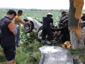 Un tânăr şi-a pierdut viaţa într-un tragic accident la Milişăuţi