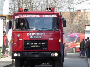 Exerciţiu al pompierilor