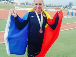 Andreea Doroftei a reușit să câștige argintul balcanic la junioare I