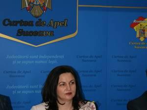 Cu media generală 8,90, Maria Andrieş va conduce Curtea de Apel Suceava şi pentru următorii 3 ani