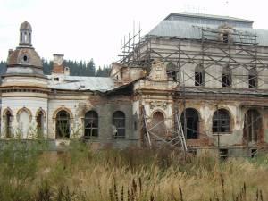 Cazinoul din Vatra Dornei, aproape o ruină