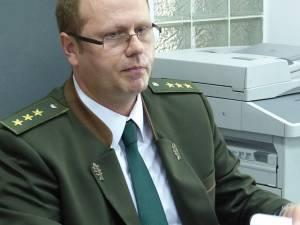 Mihai Găşpărel, noul inspector-şef al Gărzii Forestiere Suceava