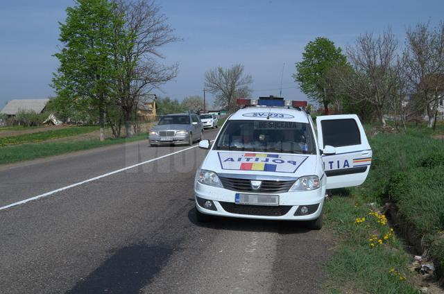 Acţiune de control cu radarele pe E 85, pe sectorul Drăguşeni-Vadu Moldovei
