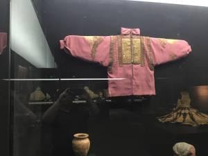 Piesă textilă arheologică medievală