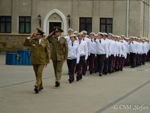 Promovare de 100% la bacalaureat, la Colegiul Militar din Câmpulung Moldovenesc