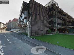 Parcarea multietajată de la Oradea. Foto: GoogleMaps
