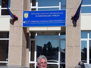 Primarul municipiului Suceava, Ion Lungu, a depus proiectul la Compania Naţională de Investiţii