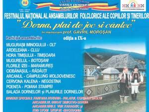 Festivalul Dorna plai de joc şi cântec
