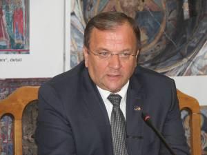Preşedintele Consiliului Judeţean Suceava, Gheorghe Flutur