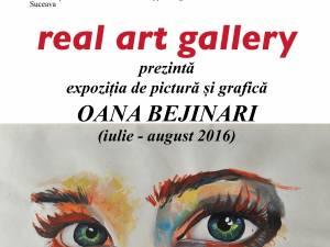 Expoziție de pictură și grafică la Real Art Gallery