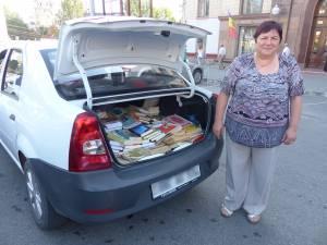 Cu sprijinul cititorilor cotidianului Monitorul de Suceava, anul trecut au ajuns în Transnistria câteva sute de cărţi în limba română
