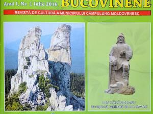 """""""Însemnări Bucovinene"""", revista de cultură a municipiului Câmpulung Moldovenesc"""