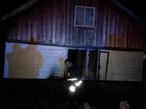 În urma cercetărilor făcute după stingerea incendiului, s-a constatat că focul a fost pus cu intenţie