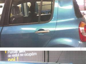 Autoturismului avariat de angajaţii de la Darex