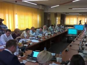 Consiliul Local Suceava, în şedinţa de joi