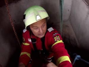 Pompierul care a coborât în fântână