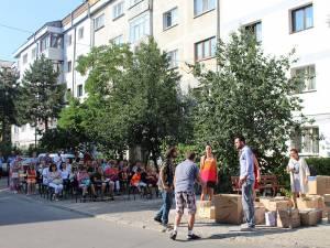 Teatru neconvenţional pe străzile din Burdujeni