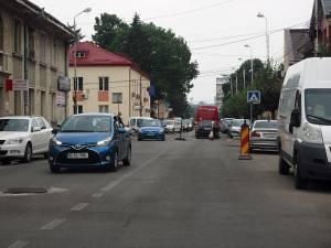 Trafic restricţionat pe strada Mihai Viteazu, pentru turnarea de covor asfaltic