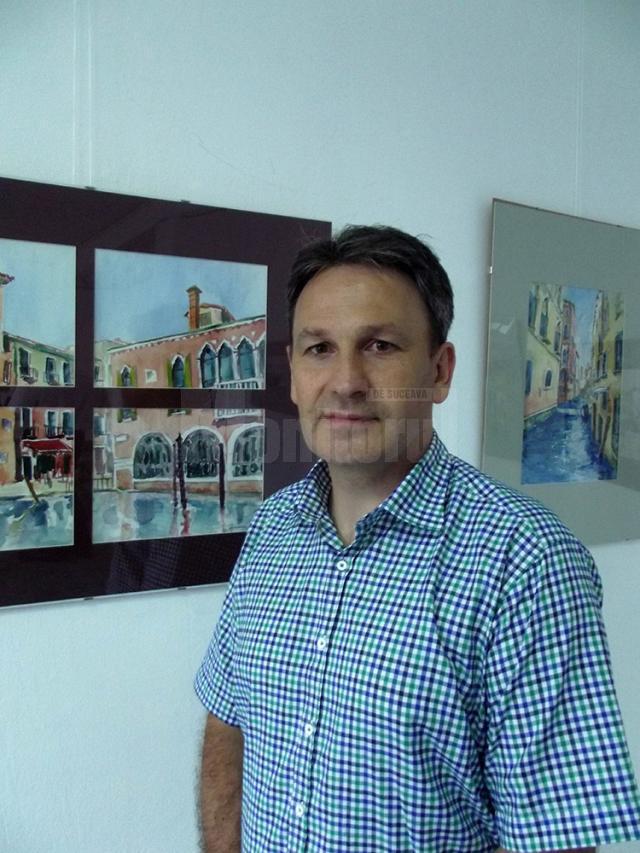"""Expoziţia """"Jurnal de vacanţă – Veneţia"""""""