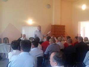 Social-democraţii suceveni s-au întâlnit în şedinţă în comuna Frumosu