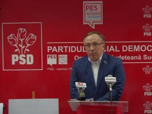 Dan Ioan Cuşnir, preşedintele interimar al PSD Suceava