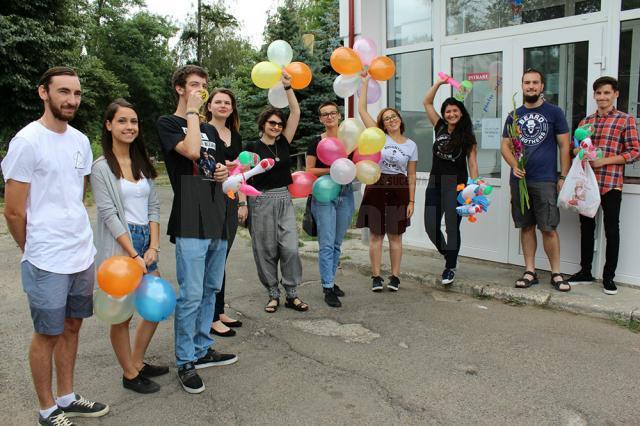 Fălticenenii au zâmbit în cadrul Campaniei Catch a Smile Day
