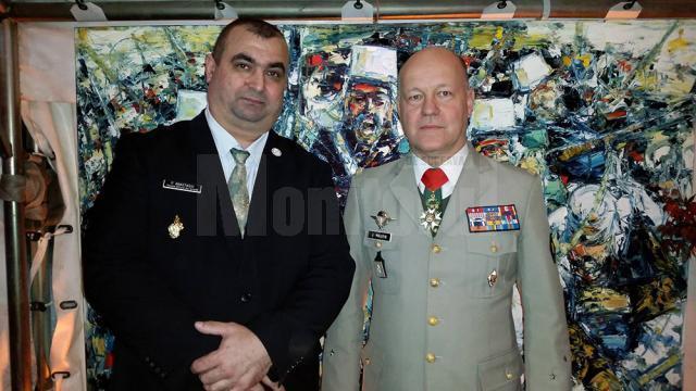 Paul Anastasiu împreună cu generalul Maurin