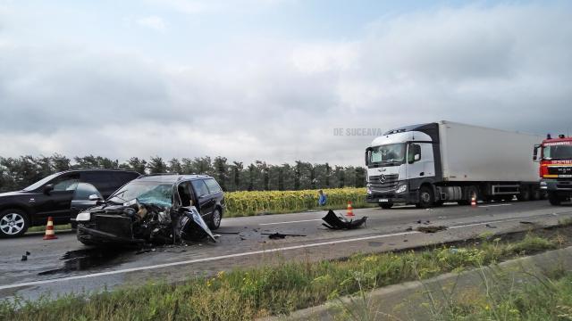 Locul accidentului