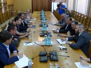 Gheorghe Flutur s-a întâlnit cu o delegaţie de oameni de afaceri din Qatar