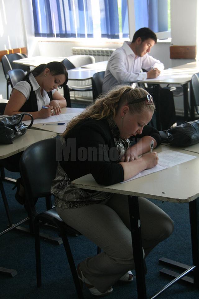 La proba scrisă de vineri cei mai mulţi candidaţi s-au înscris pentru a susţine examenul la biologie şi geografie