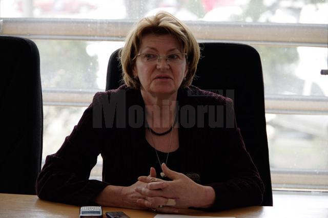 Purtătoarea de cuvânt a DGASPC Suceava, Nicoleta Daneliuc