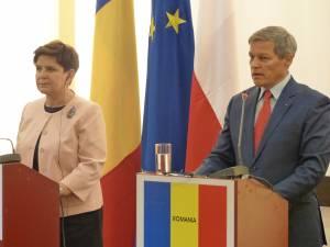 Beata Szydło și Dacian Cioloș au discutat la Gura Humorului despre viitorul Uniunii Europene