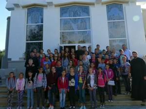 Școala de vară la Parohia Boroaia I