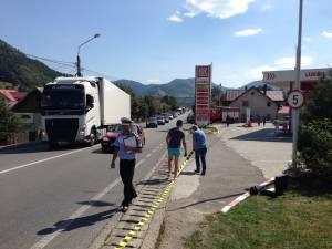 Accidentul s-a petercut pe Calea Bucovinei din Campulung Moldovenesc