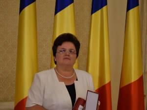 Prof. Daniela Luminiţa Ceredeev de la Şcoala Gimnazială Vatra Moldoviţei
