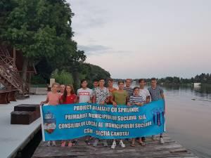 Canotorii de la CSM Suceava au câștigat cinci medalii la naționalele de seniori