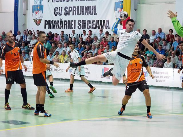 Pivotul sucevean Bogdan Baican a fost ales în echipa ideală a primei etape din Liga Națională