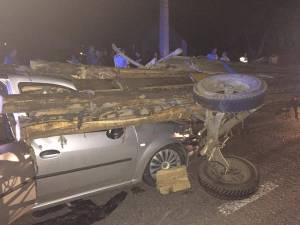 Cel mai groaznic accident este cel petrecut pe data de 10 august pe DN 17, de la Ilişeşti