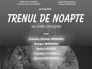 """""""Trenul de noapte"""" revine cu două spectacole în zona Gării Burdujeni"""