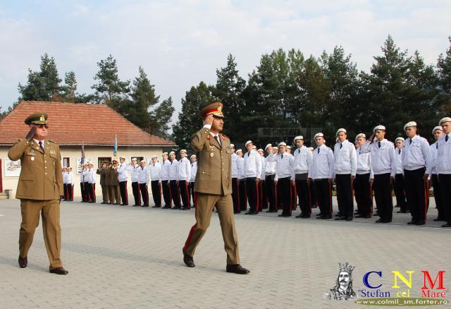 Festivitatea de debut de an școlar la Colegiul Militar Câmpulung Moldovenesc