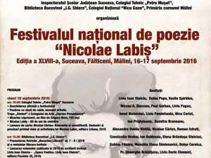 """Festivalul naţional de poezie """"Nicolae Labiş"""""""