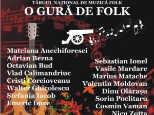 Recitalurile Târgului Național de Muzică Folk