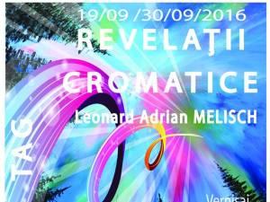 """Expoziția """"Revelații cromatice"""""""
