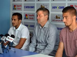 Răzvan Avram, Cristi Popovici şi Toma Niga au vorbit despre duelul de sâmbătă, cu CSM Râmnicu Vâlcea