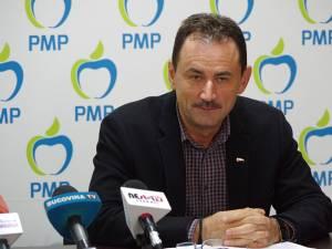 Preşedintele Organizaţiei Municipale Suceava a PMP, Marian Andronache