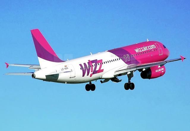 """Compania Wizz Air va modifica orarul de zbor al curselor internaţionale operate de pe Aeroportul """"Ștefan cel Mare"""" Suceava către Milano şi Londra"""