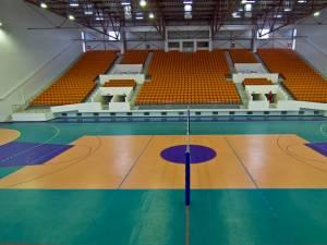 Sala din Botoşani unde se va disputa meciul cu HC Vaslui