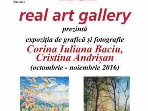 Expoziție de grafică și fotografie, la Real Art Gallery