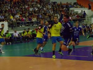 Universitatea a învins Vasluiul la 4 goluri